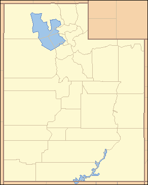 Utah is divided into its 29 counties.